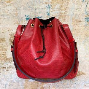 Louis Vuitton Epi Leather Petit Noe Shoulder Bag